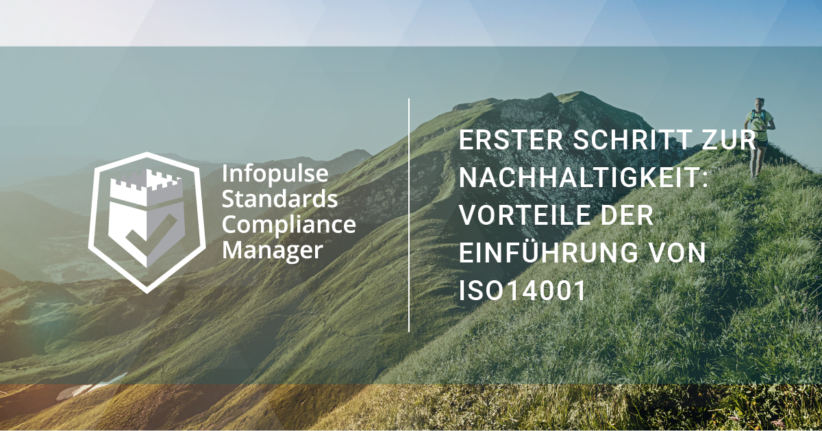 Nachhaltigkeit ISO14001 umweltstandard