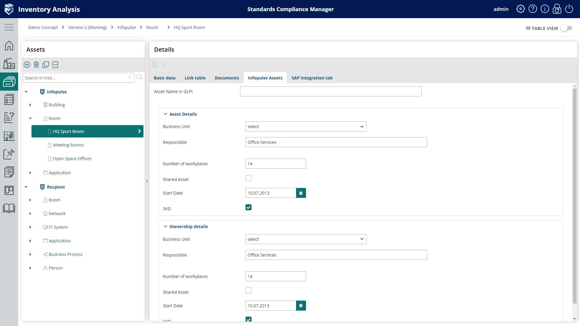 Custom fields Inventory Analysis