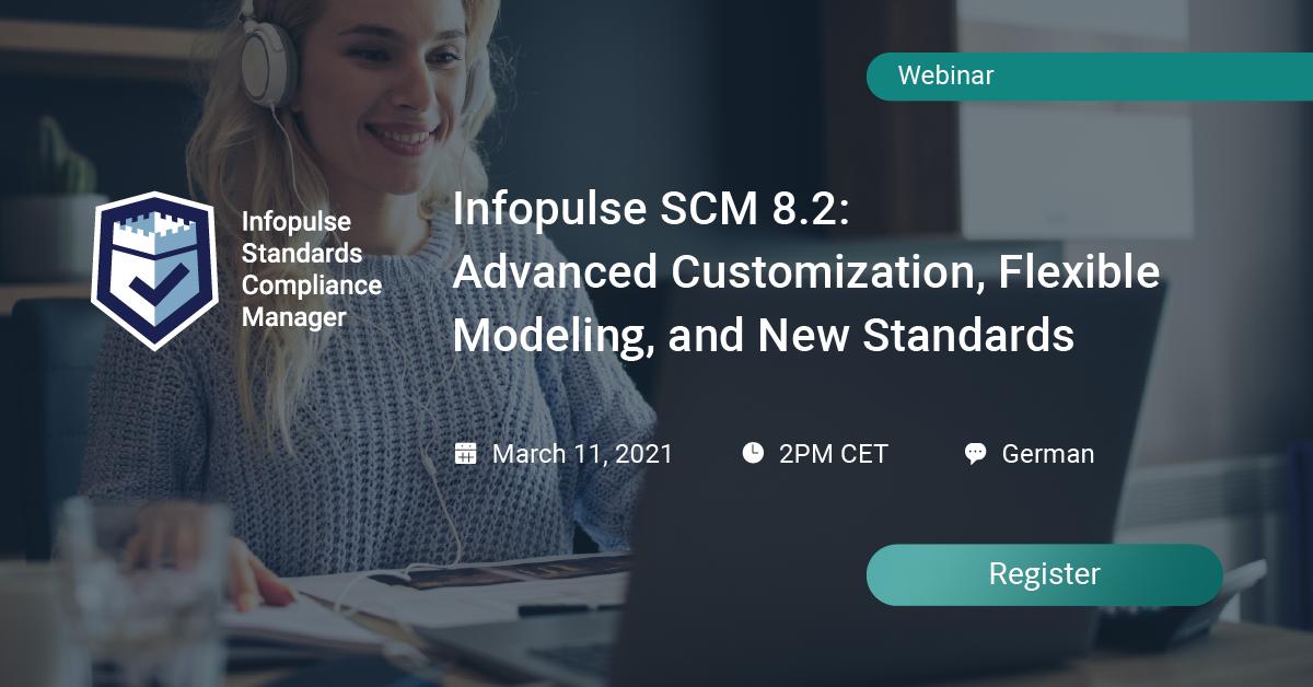 SCM webinar customization modeling