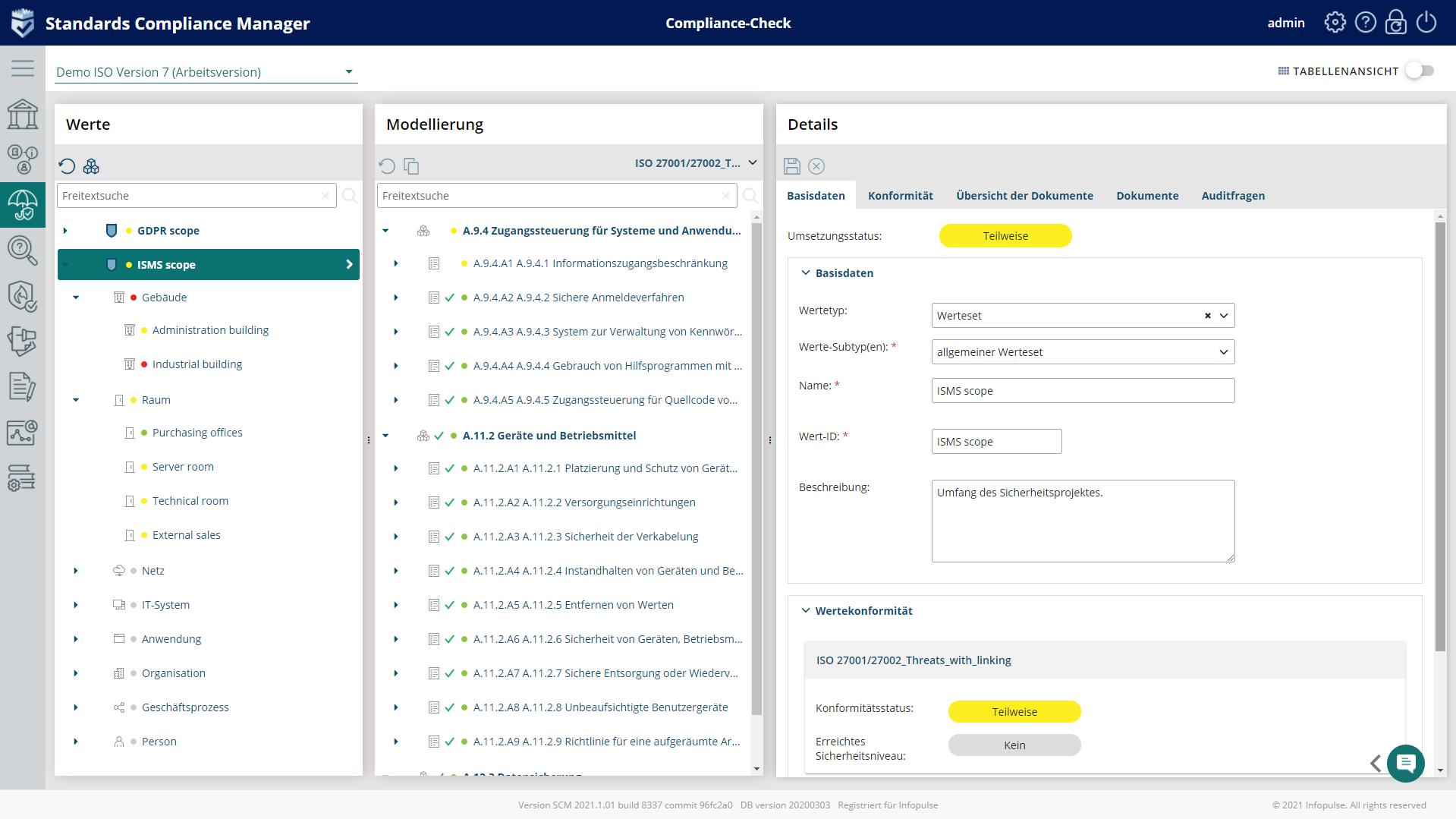 Compliance-check Grundschutz